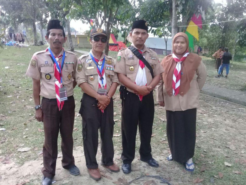 SMK Abdurrab gelar Perkemahan Besar Penggalang Se-Kota Pekanbaru